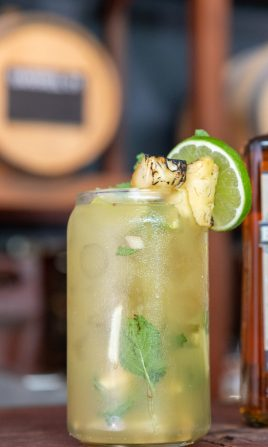 Pineapple & Ginger Mojito